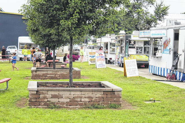 While Stateline Heritage Days looked different this year, many aspects, including food trucks, rides, and games, remained the same as previous years.