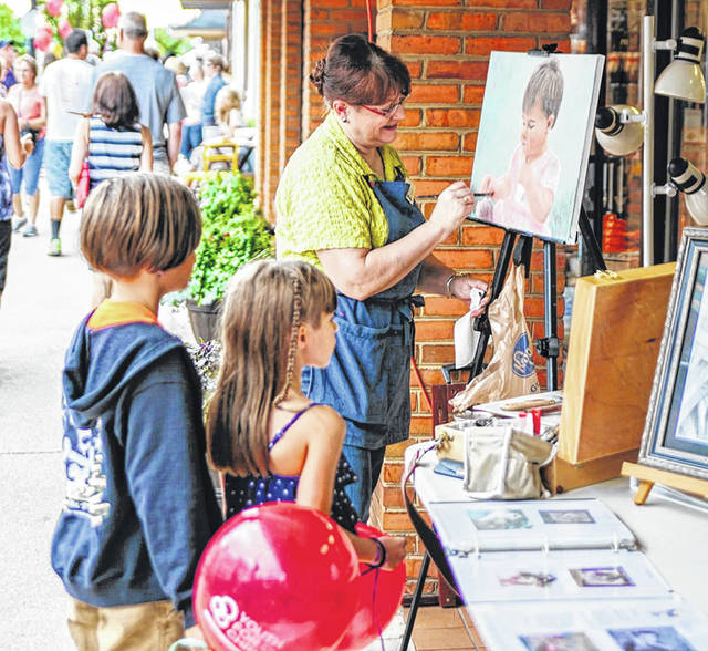 The Jordan Agency Artisan Stroll will be part of the return of First Fridays in downtown Greenville Sept. 4.