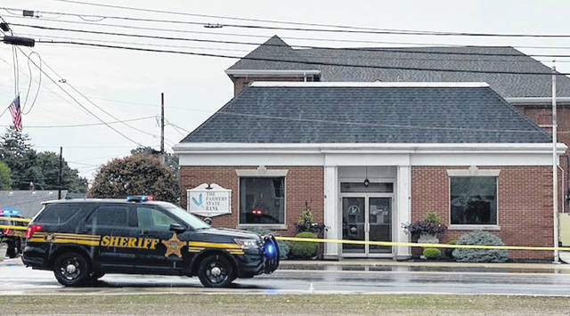 A robbery occurred at The Farmer's State Bank in New Madison early Tuesday morning.