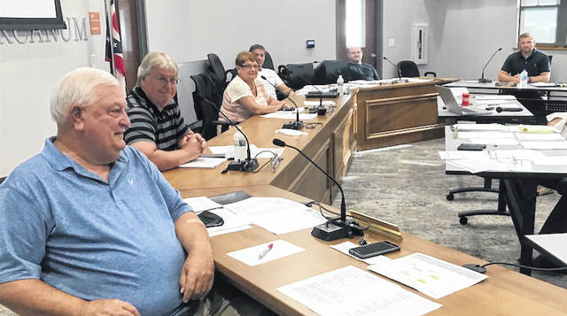 The Arcanum Village Council met Tuesday evening to primarily discuss the town's water facilities and distribution.