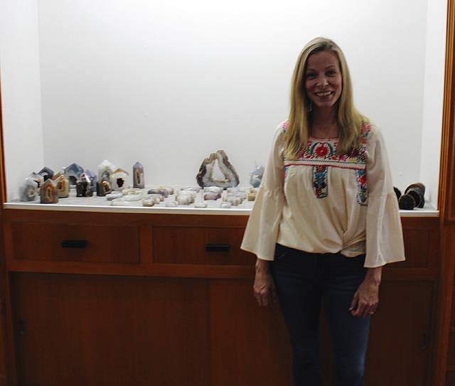 Destiny Phlipot is the owner of the recently opened Gracious Mineral Company in downtown Greenville.