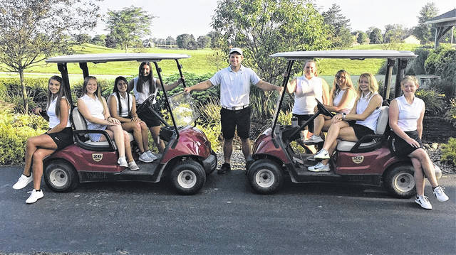 The Tri-Village Lady Patriots golf team stands 8-1 on the season.