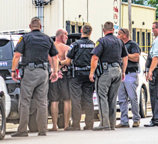 Officers took a Union City, Ohio, man into custody Monday following an hours-long standoff. Charges are pending.