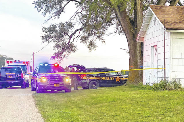 An Arcanum man was subdued by taser and arrested following shots fired Sunday evening. No serious injuries were reported.