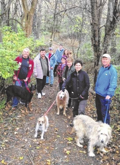 Enjoy a Bark in the Park Dog Walk courtesy of your Darke County Parks District.