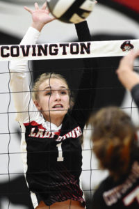 MV drops road match to Covington in CCC volleyball