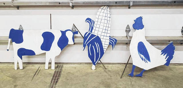 Franklin Monroe FFA Boosters get creative and go 'cow tipping' to raise funds this year.