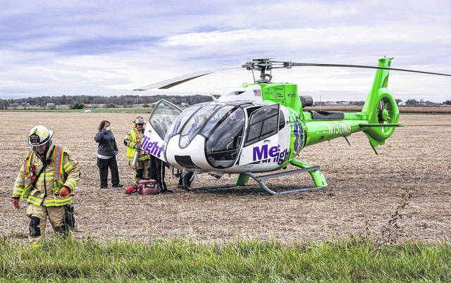 MedFlight was called to the scene of a fatal accident Sunday at the intersection of State Routes 722 and 726. One woman was pronounced dead at the scene; another woman later succumbed to injuries, while three other involved were treated for minor injuries.