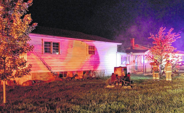A Greenville family home suffered damage Thursday night due to an electrical fire.