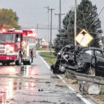 OVI crash leads to power outage