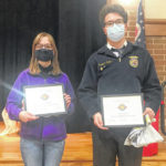 Sperati, Trissell named Versailles FFA 'Members of the Month'