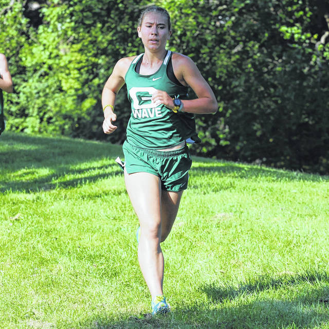Greenville's Isabelle Rammel advances to OHSAA Cross Country Regionals.
