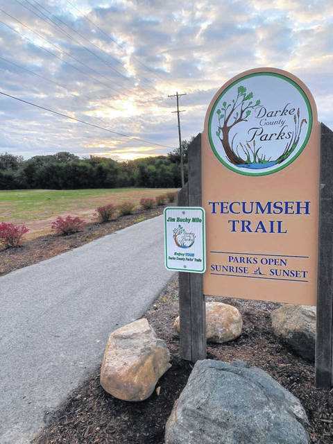 "The new ""Jim Buchy Mile"" at Tecumseh Trail will have a grand opening Saturday, Oct. 24, at 1 p.m."