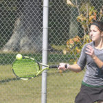 Marchal earns third trip to district at D-II sectional tennis