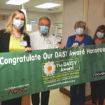 Wayne HealthCare Nurse Osborne receives DAISY Award
