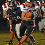 Ansonia football improves to 5-1 by blanking Covington