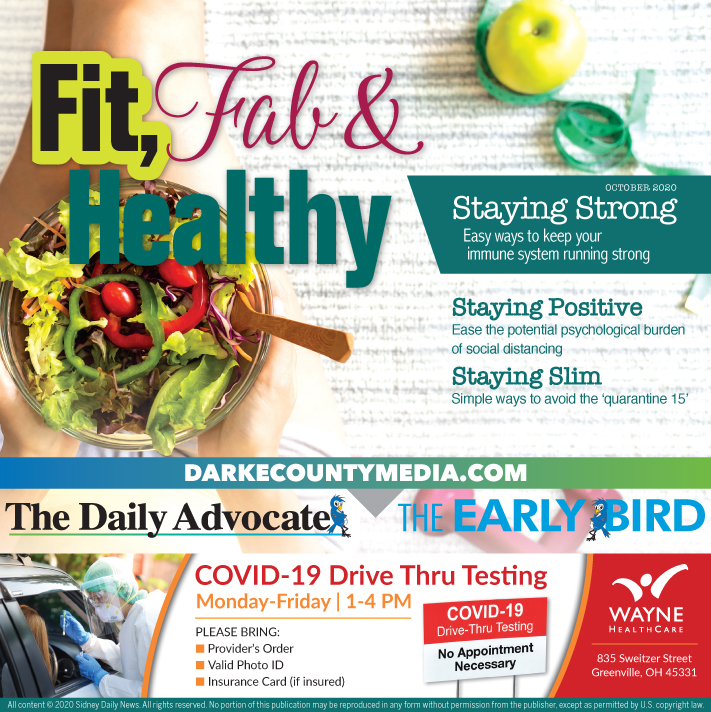 Daily Advocate – Healthy Living 2020