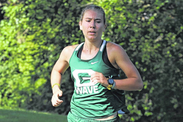 Greenville's Isabelle Rammel headed to State to compete in OHSAA State cross country meet.