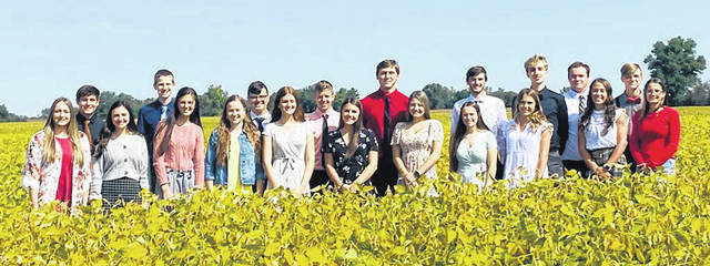 Arcanum High School held its 2020 Homecoming festivities despite COVID-19 restrictions. Shown is the 2020 Homecoming Court.