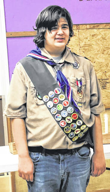Greenville High School graduating senior and Eagle Scout, Austin Zechar, is the son of Greg and Heather Zechar. He is a member of Boy Scout Troop 134, sponsored by First United Methodist Church in Greenville, Ohio.