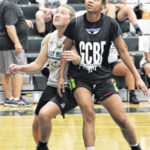Lady Wave scrimmage well with Xenia