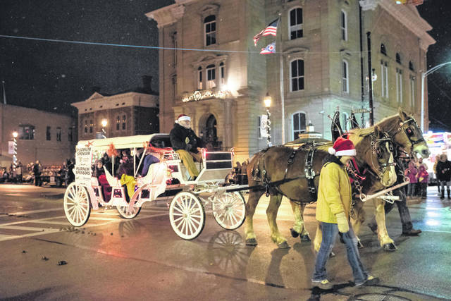 Greenville's 2020 Holiday Horse Parade has been canceled due to an uptick in COVID-19 cases.