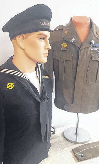 The Garst Museum Veterans Day exhibit will be unveiled in the Lowell Thomas Meeting Room Nov. 11 and is free to visit.