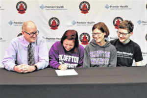 Bradford's Daugherty signs with Bluffton