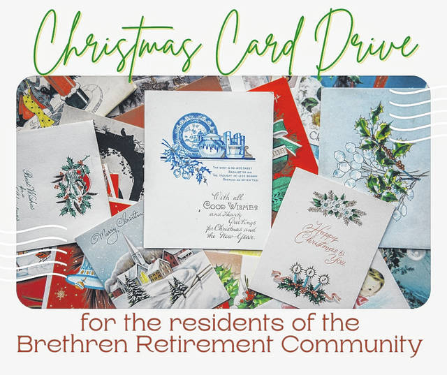 Financial Achievement Services is conducting a Christmas Card Drive for residents at the Brethren Retirement Community.