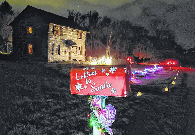Darke County Parks' annual Winter Wonderland luminary event was a great success, with more than 500 vehicles driving through.