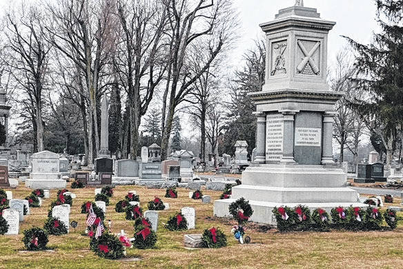 An official Wreaths Across America (WAA) location, Greenville Union Cemetery will join more than 2,100 other locations across the country for National Wreaths Across America Day.
