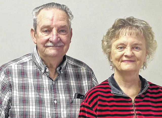 Shown are Bill and Rosy Brinley. The William and Rosalyn Brinley Family Scholarship Fund has been established at the Darke County Foundation to support the furthering of educational endeavors of Tri-Village students.