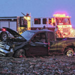 Hazardous conditions blamed for rollover crash