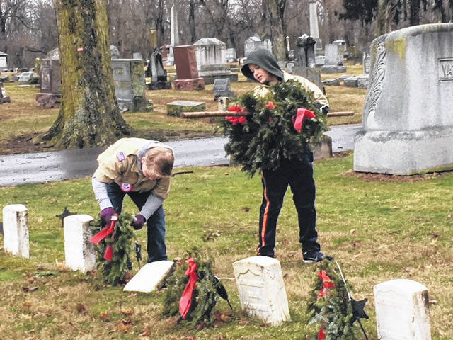 Fort GreeneVille Chapter Daughters of the American Revolution will host the removal of WAA wreaths. Volunteers are invited to participate in this annual project Saturday, Feb. 6, 2021, beginning at 10 a.m. with a wreath retirement ceremony.