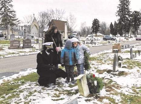 Local DAR Fort GreenVille Chapter was able to lay wreaths on over 1,217 veteran graves in the during the December 2020 holiday season.