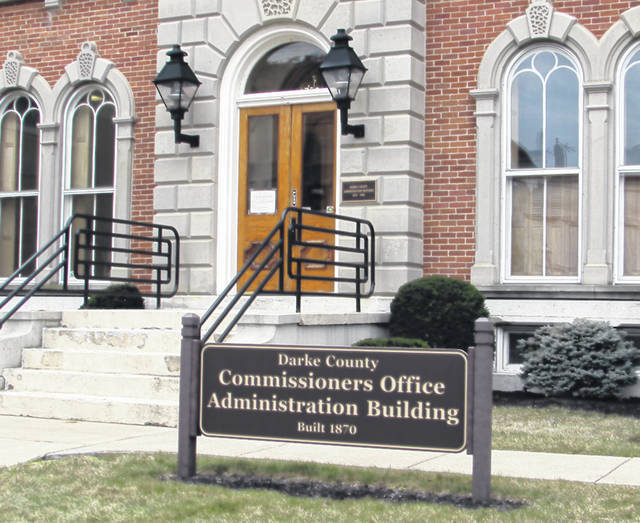 The Darke County Board of Commissioners met Wednesday afternoon to discuss fund transfers and releases, and the Darke County CDBG Allocation and Critical Infrastructure projects.
