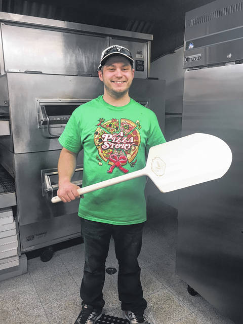 "Aaron Keaser, owner of Teaford's Pizza & Subs, stands ready in his kitchen, located at 101 Pine Street, in Greenville. Darke County is blessed to have many outstanding ""signature"" eateries, like Teaford's Pizza & Subs, throughout its four corners, celebrating its own unique blend of traditions and cultures."