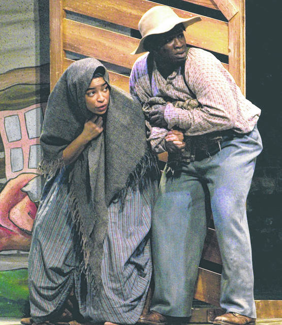 """DCCA Family Theatre Series 2020-2021 season opens in Feb. with """"Harriet Tubman and the Underground Railroad."""" Rather than on the stage at Henry St. Clair Memorial Hall in Greenville, the series will be presented virtually. To access these Family Theatre Series productions for streaming, go to DCCA's Website www.darkecountyarts.org."""