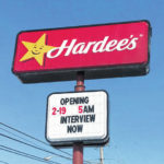 Hardee's now open in Greenville