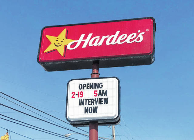A new Hardee's in Greenville opened Friday, Feb 19. The restaurant is addressed to the new location of 699 Wagner Avenue and is open from 5 a.m. to 10 p.m. seven days a week.