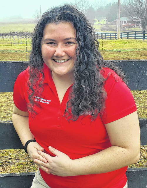 Taylor Dill was recently hired as argiculture and natural resources educator at OSU Darke County.