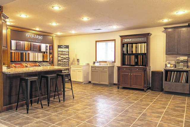 Flaig Lumber of New Madison has a renovated Kitchen and Bath Showroom. Along with the showroom, Flaig Lumber is also offering the services of its very own in-house designer, Katie Clune.