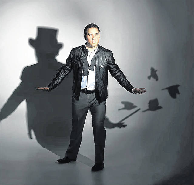 "Award-winning magician Daniel Martin will present ""Magic Night In"" Saturday, March 27 at 7 p.m. The virtual event, sponsored by the Darke County Center for the Arts, will be available for streaming at no charge to patrons. To stream, go to DCCA's Website www.darkecountyarts.org or email DCCA at info@darkecountyarts.org."