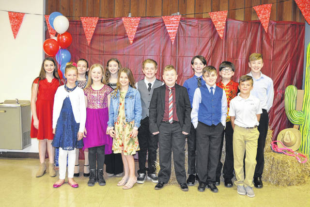 Decolores Montessori Grade 6 students who performed in this year's Solo and Ensemble concert were: Safet H., Kierstin D., Jack B., Trevar M., Teddy M., Claire R., Annabelle M., Micah P., Daniel K., Michael M., Rainey G., Joe D., Sierra M., and Nevan M.