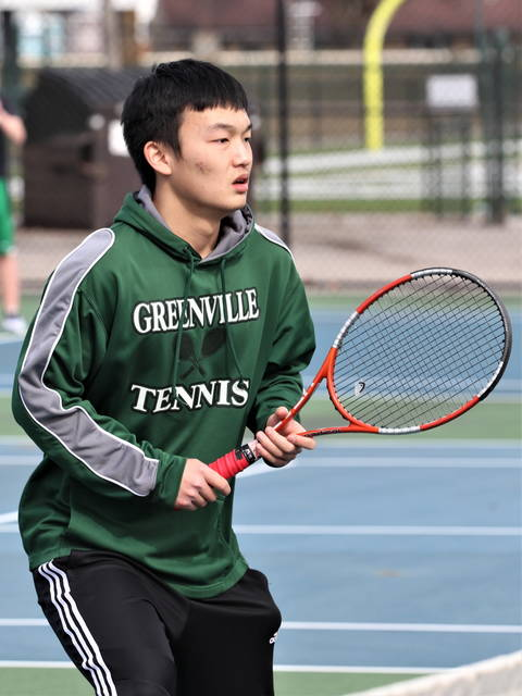 Greenville's Jiahao Zhang, finishes second at Chaminade Julienne Invitational.
