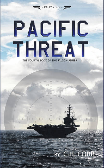 Local author and pastor Chris Cobb, also known by his pen name C.H. Cobb, recently released his eighth novel<em> Pacific Threat</em>.