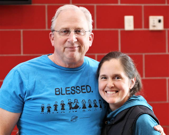 Greenville graduate, Ric Kensinger and wife Beth, parents of Legacy Christian Lady Knights starters Margaret and Caroline Kensinger.