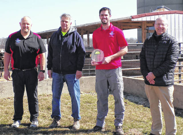 Winner's Meats was the recipeint of the Darke Co. Chamber's 2021 Agriculture Achievement Award.