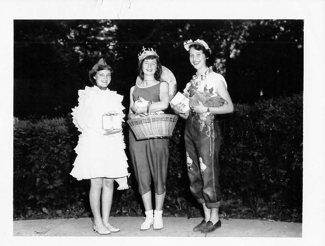 Pictured is the very first Miss Chick Bonnie Sue Besecker in 1952.
