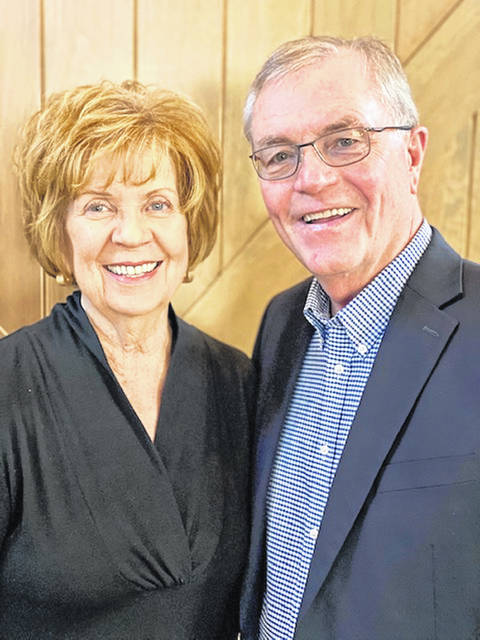 Versailles natives Mike and Sandy McClurg are the parade marshals for the 2021 Versailles Poultry Days Grand Parade. Pictured is Mike and Sandy McClurg.